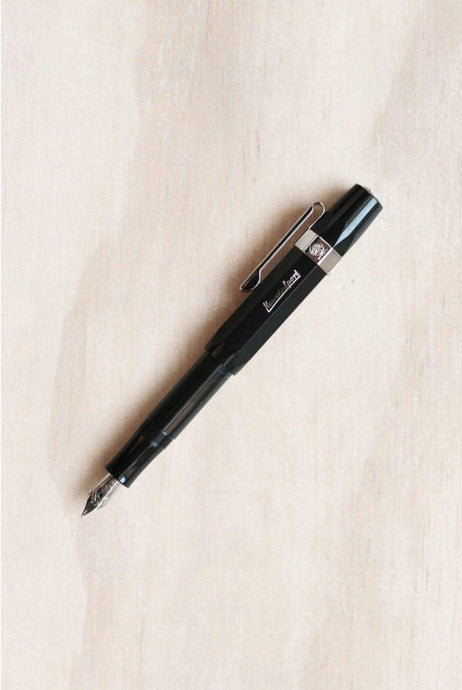 Kaweco Classic Skyline Fountain Pen - Medium Nib - Black - Fountain Pens Online