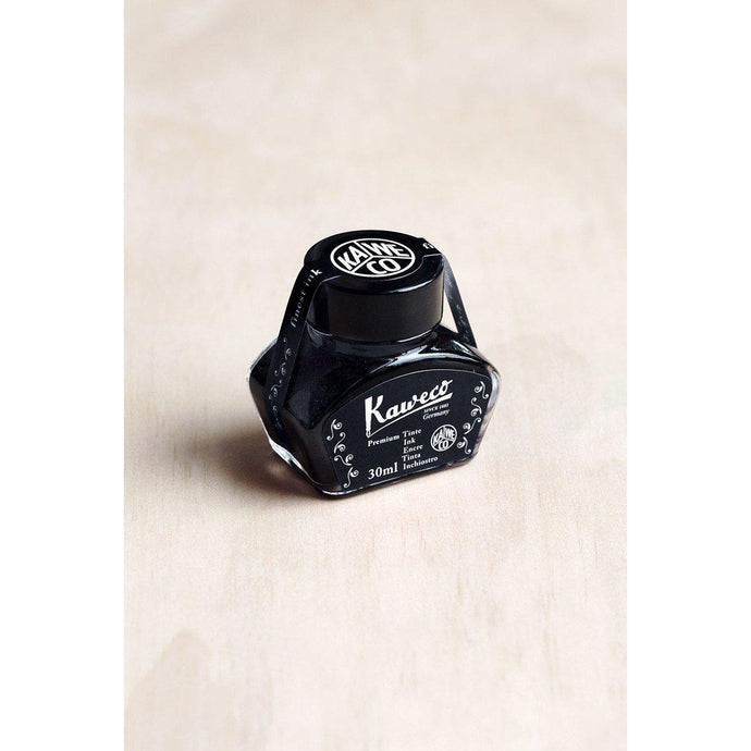 Kaweco Fountain Pen Ink - Pearl Black - 30ml Bottle-Fountain Pens Online