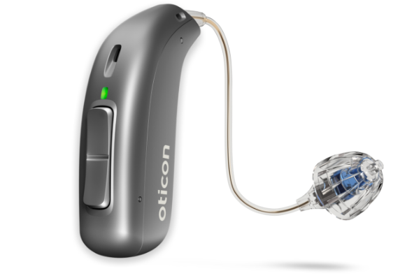 Oticon More 1 Rechargeable Hearing Aids (Premium)