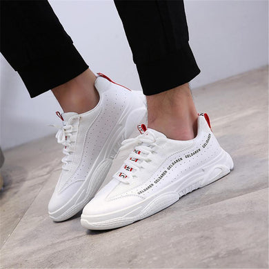 Men's casual low-top sneakers sport shoes