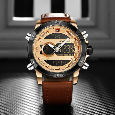 Fashion Quartz Wristwatches Mens Sport Watch