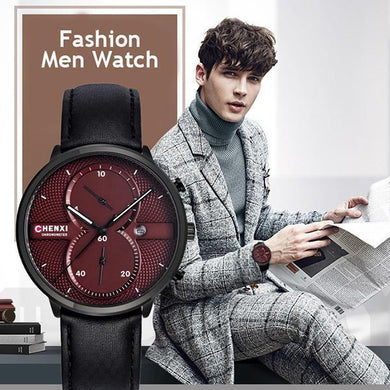 Fashion Luxury Sports Mens Clock Quartz Wristwatch
