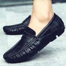 Load image into Gallery viewer, Peas shoes spring and summer tide shoes men's large size driving shoes