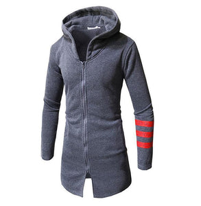Men's Casual Long Hoodie