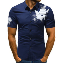 Load image into Gallery viewer, Flower Men's Short Sleeve Shirt