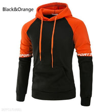 Load image into Gallery viewer, Loose Color Matching Men's Hoodie