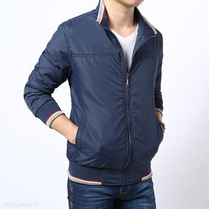 Mens Light Baseball Jacket