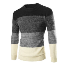 Load image into Gallery viewer, British Slim Color Matching Sweater