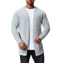 Load image into Gallery viewer, Fashion Plain Packet Cool Knit Cardigan