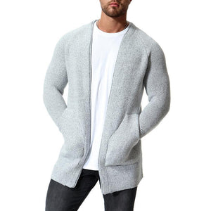 Fashion Plain Packet Cool Knit Cardigan