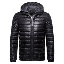 Load image into Gallery viewer, Fashion Plain Winter Slim Down Jacket