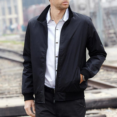 Mens Casual Autumn Wear Jacket
