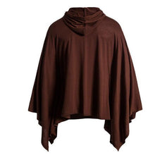 Load image into Gallery viewer, Casual Fashion Loose Solid Color Long Sleeve Irregular Hem Hoodie
