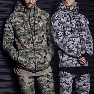 Camo Winter   Workout Outerwear