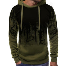 Load image into Gallery viewer, Men's Hooded Personality Letter Print Sweater