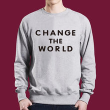 Load image into Gallery viewer, Crew Neck  Cutout  Letters Sweatshirts