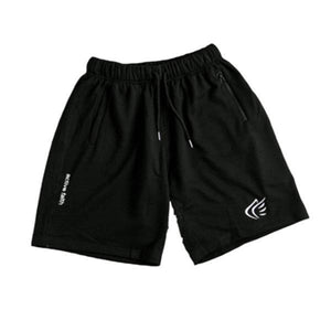 Solid Color Loose Sports Fitness Shorts