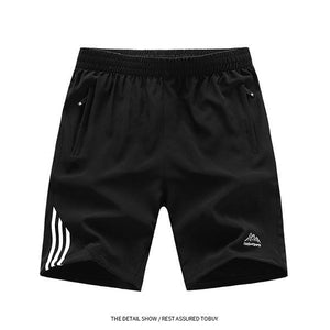 Striped Lightweight Breathable Shorts