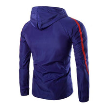 Load image into Gallery viewer, Solid Color Windproof Sunscreen Hooded Jacket