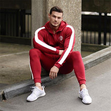Load image into Gallery viewer, Cozy Side-Stripe Tracksuit