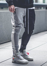 Load image into Gallery viewer, Men's Color Matching Color   Zipper Casual Pants