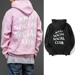 Trend Solid Color Loose Fit Hoodie