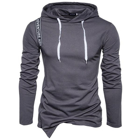 2019 New Fashion Solid Color Hoodie