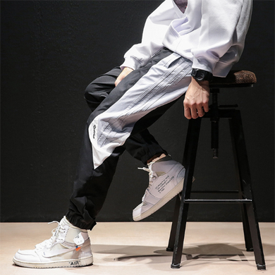 Men's Fashion Loose Velcro Sweatpants
