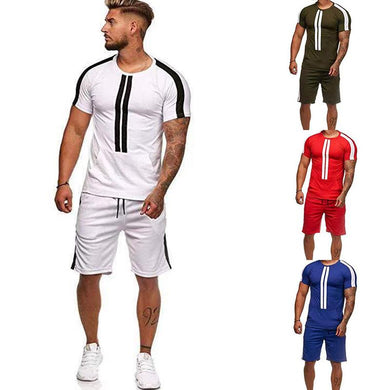Sports And Leisure T-Shirt   Short-Sleeved Shorts Suit