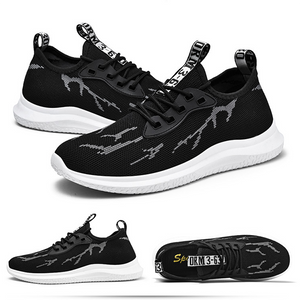 Flame Light And Breathable Trend Men's Casual Sports Shoes
