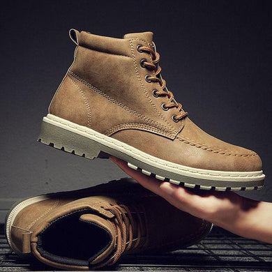 Fashion England Style Artificial PU Martin Boots