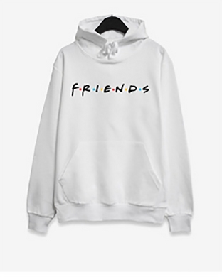 Fashion Letter Print Long Sleeve Hooded Sweatshirts