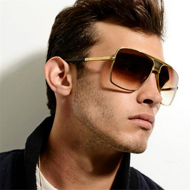 Men's outdoor fashion retro sunglasses