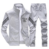 Men's Sports Casual Wear Cardigan Suit