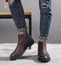 Load image into Gallery viewer, Casual Fashion tooling for shoes   in the men's boots