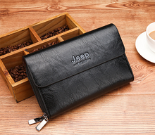 Load image into Gallery viewer, Men's Business   Long Zip Wallet Clutch