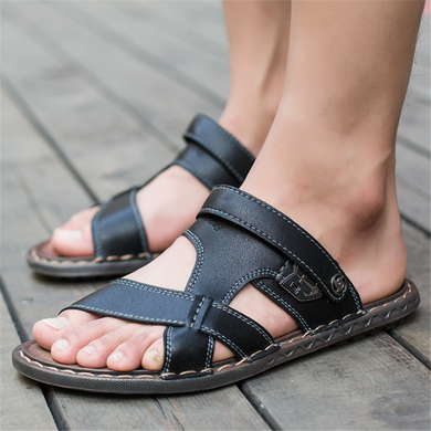 Men's Retro Breathable Dual-Use Sandals