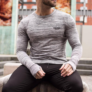 Fashion Round Neck Plain Sport T-Shirt