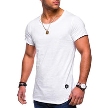 Load image into Gallery viewer, New men's short-sleeved t-shirt round neck  bottoming  t-shirts