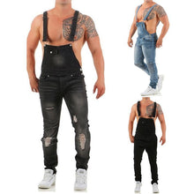 Load image into Gallery viewer, Denim Overalls Sling Jumpsuit 3 Colours