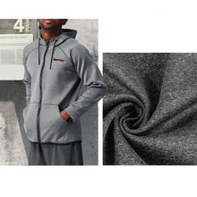 Load image into Gallery viewer, Men's Hooded Casual Speed Dry Training Running Suit Outdoor Fitness Coat