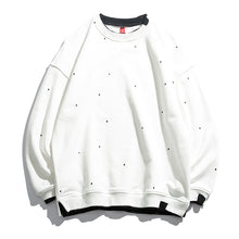 Load image into Gallery viewer, Men'S Casual Round Collar Dot Printing Loose Sweatshirt