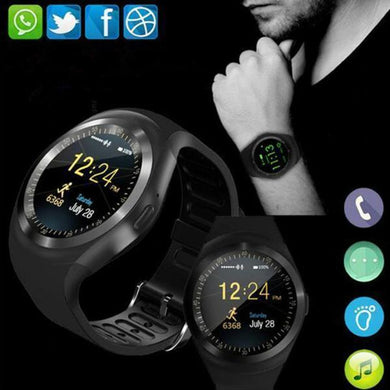Smart Watchs Round Support Nano SIM &TF Card Business Smartwatch