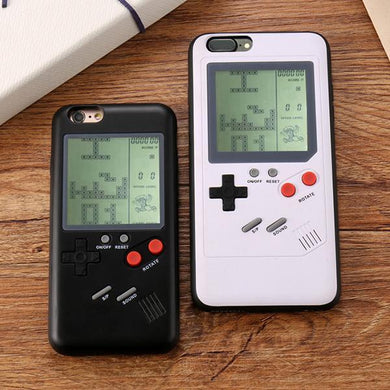 Gameboy Soft Edge Game Console Back Cover Case For Iphone