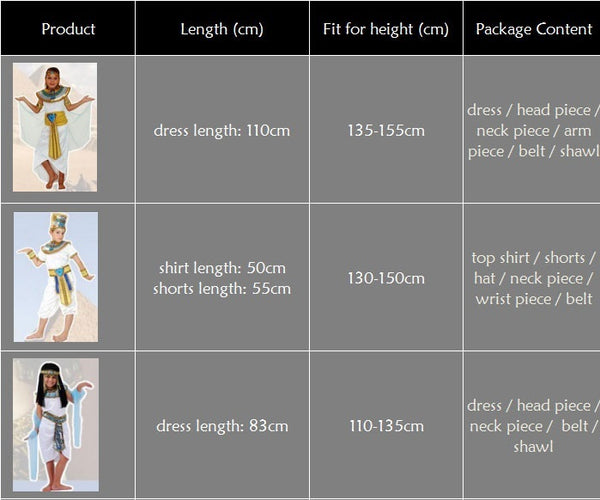 cleopatra-costume-size-chart