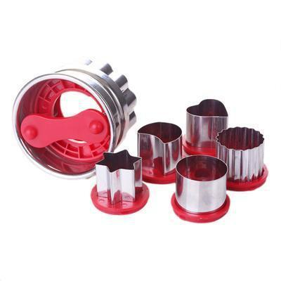 3D 6Pcs/Set Raspberry Cookies Cutter Tool-kitchen-Pocket Outdoor-Pocket Outdoor