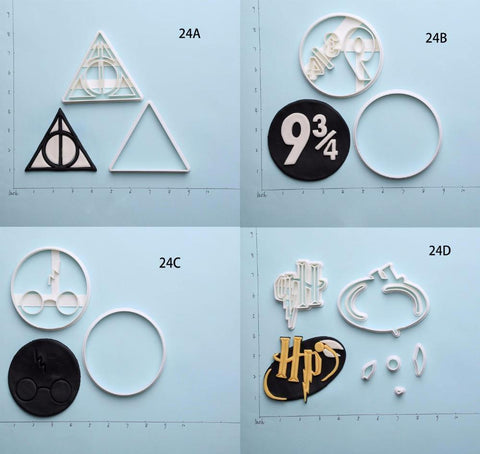 3D Printed Harry Potter Deathly Hallows Series Custom Made Cookie Cutter Set-kitchen-Pocket Outdoor-Pocket Outdoor