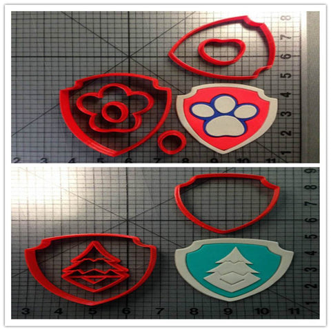 Cartoon TV Everest Badge Custom Made 3D Printed Cookie Cutter Stamp-kitchen-Pocket Outdoor-Pocket Outdoor