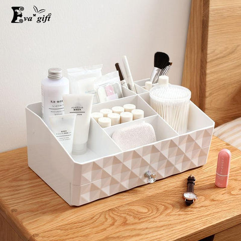 Double layer makeup organizer box multi-functional-storage organizer-Pocket Outdoor-Pocket Outdoor