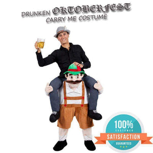 "Drunken Bavarian Oktoberfest ""Carry Me"" Costume-Costume-Pocket Outdoor-Oktoberfest-Pocket Outdoor"
